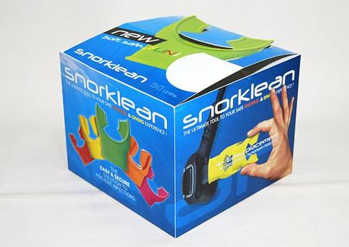 snorklean display box